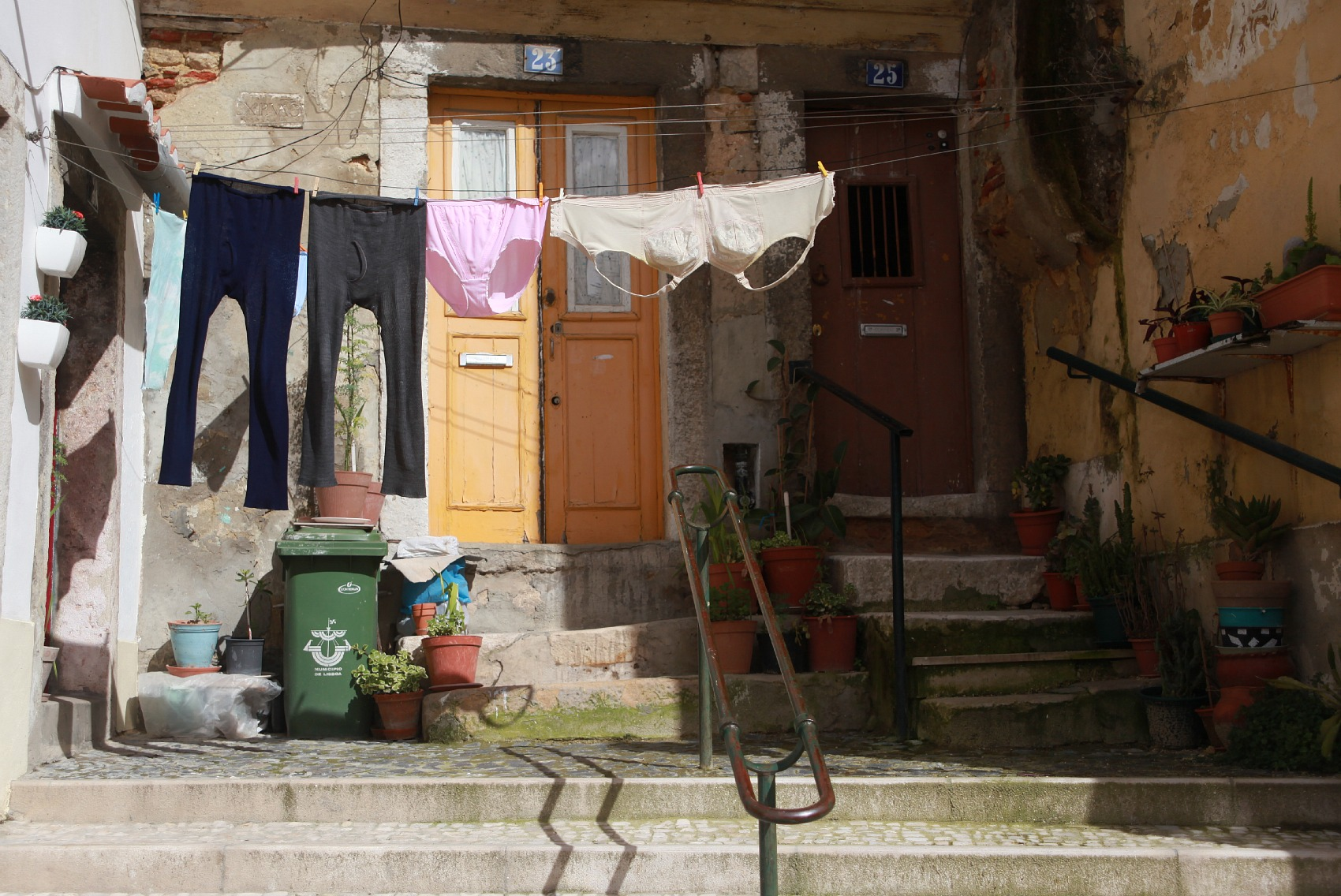 Laundry Day by Lisbon by Light