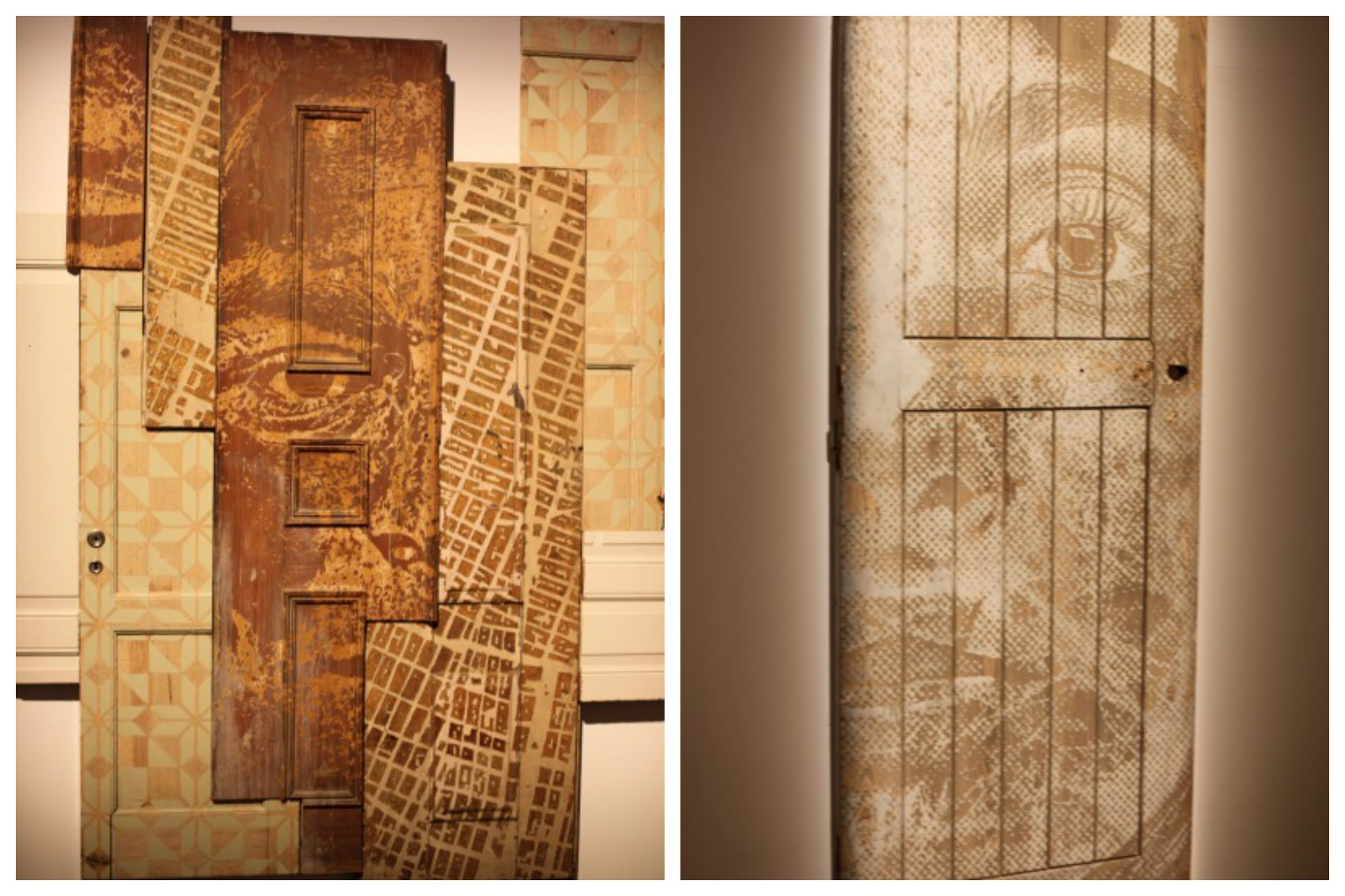 Vhils Doors for Dissection